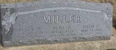 MILLER, RUTH D. - Dixon County, Nebraska | RUTH D. MILLER - Nebraska Gravestone Photos