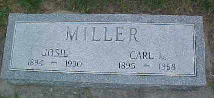MILLER, JOSIE - Dixon County, Nebraska | JOSIE MILLER - Nebraska Gravestone Photos