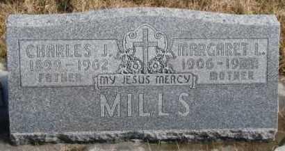 MILLS, CHARLES J. - Dixon County, Nebraska | CHARLES J. MILLS - Nebraska Gravestone Photos