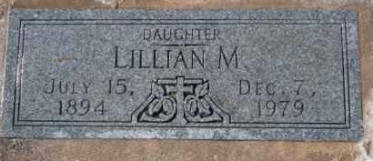 MILLS, LILLIAN M. - Dixon County, Nebraska | LILLIAN M. MILLS - Nebraska Gravestone Photos