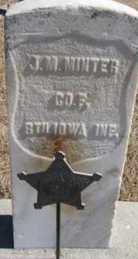 MINTER, JAMES MONROE - Dixon County, Nebraska | JAMES MONROE MINTER - Nebraska Gravestone Photos