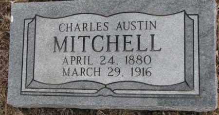 MITCHELL, CHARLES AUSTIN - Dixon County, Nebraska   CHARLES AUSTIN MITCHELL - Nebraska Gravestone Photos