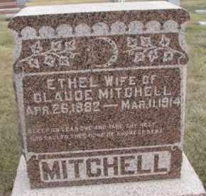 MITCHELL, ETHEL - Dixon County, Nebraska | ETHEL MITCHELL - Nebraska Gravestone Photos