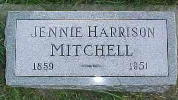 MITCHELL, JENNIE - Dixon County, Nebraska | JENNIE MITCHELL - Nebraska Gravestone Photos