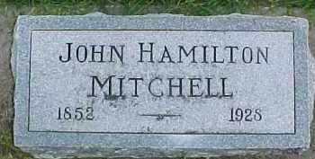 MITCHELL, JOHN HAMILTON - Dixon County, Nebraska   JOHN HAMILTON MITCHELL - Nebraska Gravestone Photos