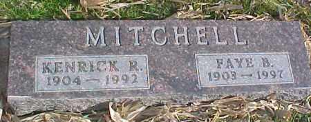 MITCHELL, FAYE B. - Dixon County, Nebraska | FAYE B. MITCHELL - Nebraska Gravestone Photos