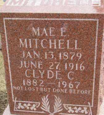 MITCHELL, MAE E. - Dixon County, Nebraska | MAE E. MITCHELL - Nebraska Gravestone Photos