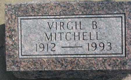 MITCHELL, VIRGIL B. - Dixon County, Nebraska   VIRGIL B. MITCHELL - Nebraska Gravestone Photos