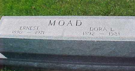 MOAD, DORA L. - Dixon County, Nebraska | DORA L. MOAD - Nebraska Gravestone Photos
