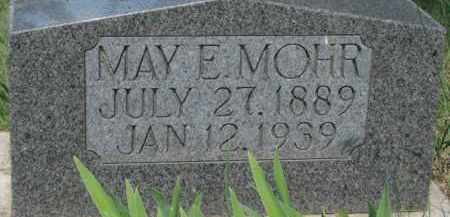 MOHR, MAY E. - Dixon County, Nebraska | MAY E. MOHR - Nebraska Gravestone Photos