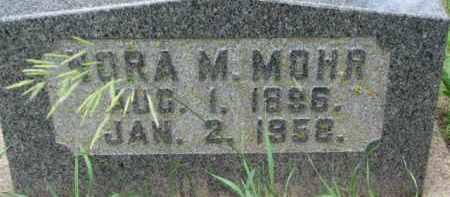 MOHR, NORA M. - Dixon County, Nebraska | NORA M. MOHR - Nebraska Gravestone Photos