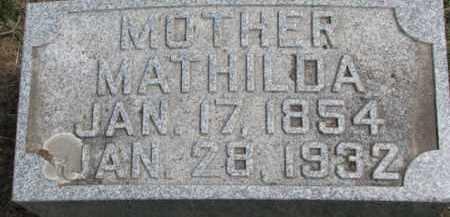 MOLL, MATHILDA - Dixon County, Nebraska   MATHILDA MOLL - Nebraska Gravestone Photos