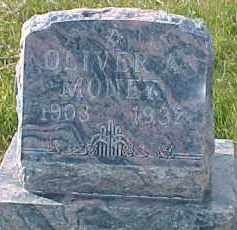 MONEY, OLIVER A. - Dixon County, Nebraska | OLIVER A. MONEY - Nebraska Gravestone Photos