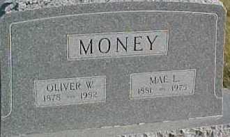MONEY, OLIVER W. - Dixon County, Nebraska | OLIVER W. MONEY - Nebraska Gravestone Photos