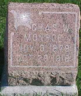 MONROE, CHAS. W. - Dixon County, Nebraska | CHAS. W. MONROE - Nebraska Gravestone Photos
