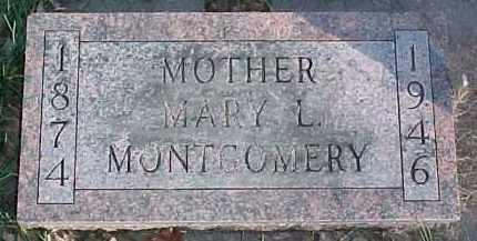 MONTGOMERY, MARY LOUISE - Dixon County, Nebraska | MARY LOUISE MONTGOMERY - Nebraska Gravestone Photos