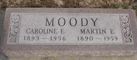 MOODY, MARTIN E. - Dixon County, Nebraska | MARTIN E. MOODY - Nebraska Gravestone Photos