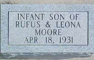 MOORE, INFANT - Dixon County, Nebraska | INFANT MOORE - Nebraska Gravestone Photos