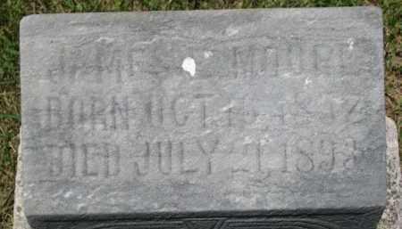 MOORE, JAMES - Dixon County, Nebraska   JAMES MOORE - Nebraska Gravestone Photos
