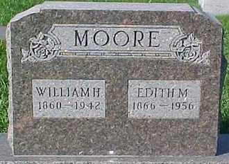 MOORE, WILLIAM H. - Dixon County, Nebraska | WILLIAM H. MOORE - Nebraska Gravestone Photos