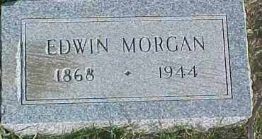 MORGAN, EDWIN - Dixon County, Nebraska | EDWIN MORGAN - Nebraska Gravestone Photos