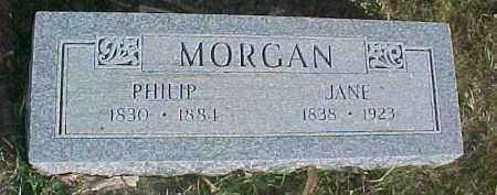 MORGAN, JANE - Dixon County, Nebraska | JANE MORGAN - Nebraska Gravestone Photos