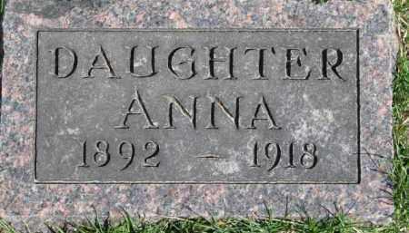 MORRELL, ANNA - Dixon County, Nebraska | ANNA MORRELL - Nebraska Gravestone Photos