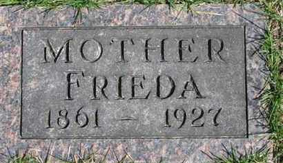 MORRELL, FRIEDA - Dixon County, Nebraska | FRIEDA MORRELL - Nebraska Gravestone Photos