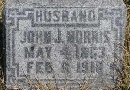 MORRIS, JOHN J. - Dixon County, Nebraska | JOHN J. MORRIS - Nebraska Gravestone Photos