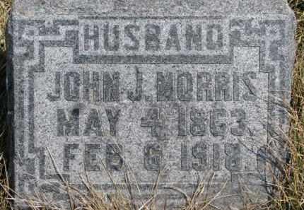 MORRIS, JOHN J. - Dixon County, Nebraska   JOHN J. MORRIS - Nebraska Gravestone Photos