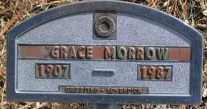 MORROW, GRACE - Dixon County, Nebraska | GRACE MORROW - Nebraska Gravestone Photos