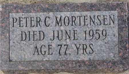 MORTENSEN, PETER C. - Dixon County, Nebraska | PETER C. MORTENSEN - Nebraska Gravestone Photos
