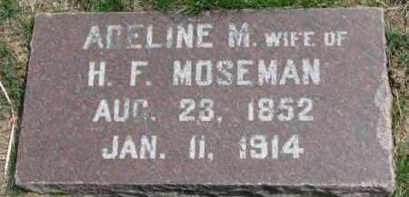 MOSEMAN, ADELINE M. - Dixon County, Nebraska   ADELINE M. MOSEMAN - Nebraska Gravestone Photos