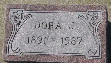 MOSEMAN, DORA J. - Dixon County, Nebraska | DORA J. MOSEMAN - Nebraska Gravestone Photos