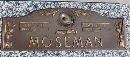 MOSEMAN, MURIEL J. - Dixon County, Nebraska | MURIEL J. MOSEMAN - Nebraska Gravestone Photos
