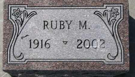 MOSEMAN, RUBY M. - Dixon County, Nebraska | RUBY M. MOSEMAN - Nebraska Gravestone Photos