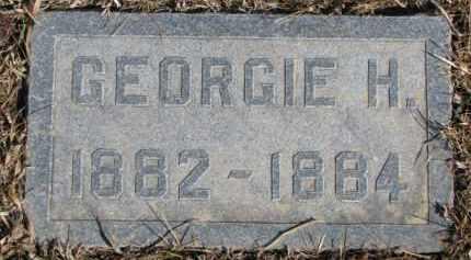 MULLEN ?, GEORGIE H. - Dixon County, Nebraska | GEORGIE H. MULLEN ? - Nebraska Gravestone Photos