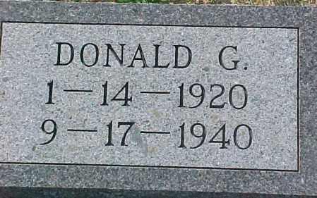 MULLER, DONALD G. - Dixon County, Nebraska | DONALD G. MULLER - Nebraska Gravestone Photos