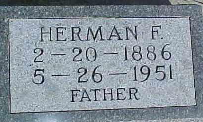 MULLER, HERMAN F. - Dixon County, Nebraska | HERMAN F. MULLER - Nebraska Gravestone Photos