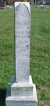 MUNSON, INGAR - Dixon County, Nebraska | INGAR MUNSON - Nebraska Gravestone Photos