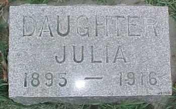 MUNSON, JULIA - Dixon County, Nebraska | JULIA MUNSON - Nebraska Gravestone Photos