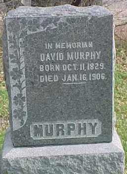 MURPHY, DAVID - Dixon County, Nebraska | DAVID MURPHY - Nebraska Gravestone Photos
