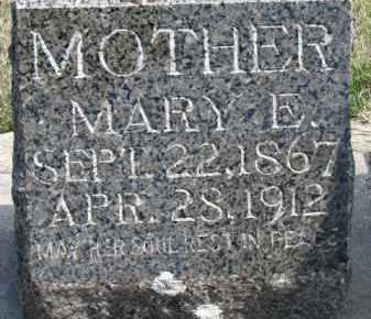 MURPHY, MARY E. - Dixon County, Nebraska   MARY E. MURPHY - Nebraska Gravestone Photos