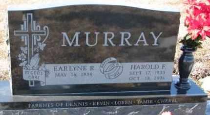 MURRAY, HAROLD F. - Dixon County, Nebraska | HAROLD F. MURRAY - Nebraska Gravestone Photos