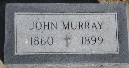 MURRAY, JOHN - Dixon County, Nebraska | JOHN MURRAY - Nebraska Gravestone Photos