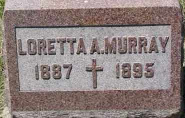MURRAY, LORETTA A. - Dixon County, Nebraska | LORETTA A. MURRAY - Nebraska Gravestone Photos