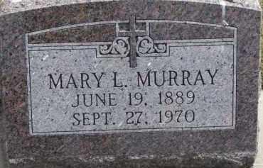 MURRAY, MARY L. - Dixon County, Nebraska | MARY L. MURRAY - Nebraska Gravestone Photos