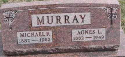 MURRAY, AGNES L. - Dixon County, Nebraska | AGNES L. MURRAY - Nebraska Gravestone Photos