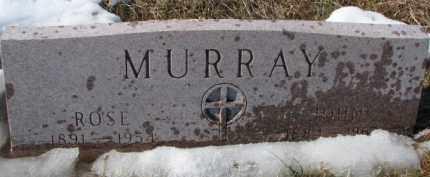 MURRAY, ROSE - Dixon County, Nebraska | ROSE MURRAY - Nebraska Gravestone Photos