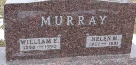 MURRAY, WILLIAM E. - Dixon County, Nebraska   WILLIAM E. MURRAY - Nebraska Gravestone Photos